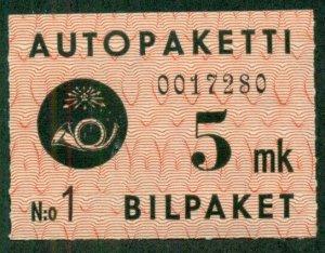 FINLAND #Q2, Mint Never Hinged, Scott $34.00