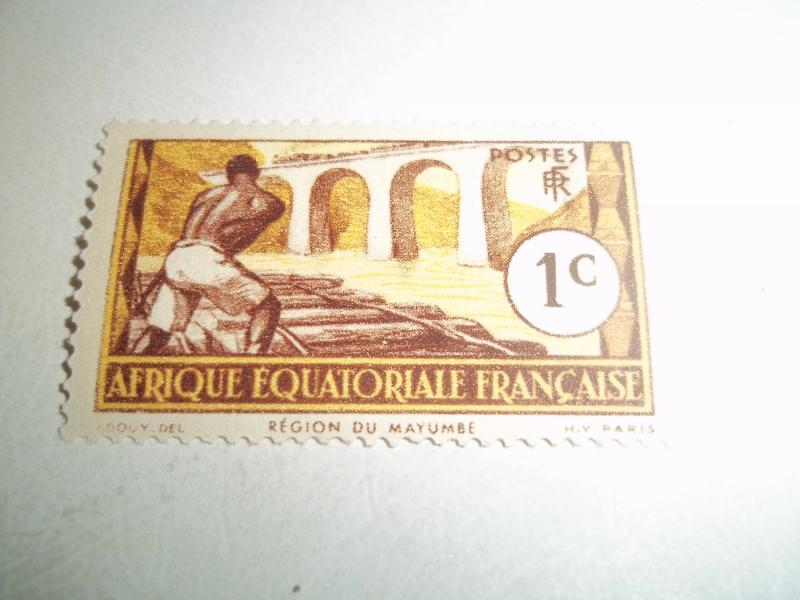 French Equalatorial Africa  #33 ( MNH ) /1937/ CV$.25