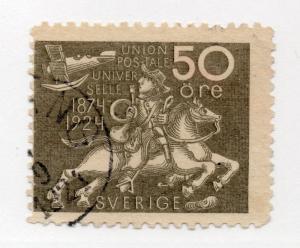Sweden - Facit # 220 / Sc# 222 Used /  Lot 514023