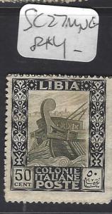 LIBYA   (P0809B)  SC 27   MNG
