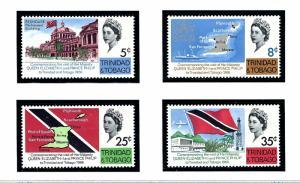 Trinidad and Tobago 119-22 MNH 1966 Royal Visit