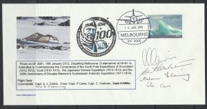 Aviation – Flight Cover Commemorating Centenaries of the South Pole Expedition