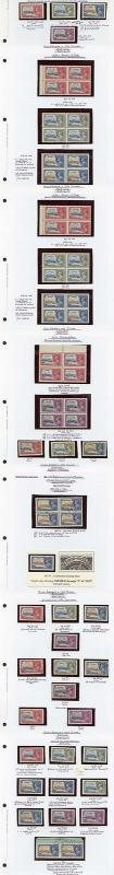 Antigua a small collection of 1935 Silver Jubilee varied from Mint to Used