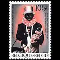 BELGIUM 1975 - Scott# B937 Philanthropic Soc. Set of 1 NH