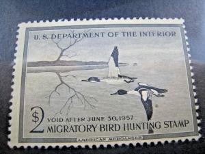 U.S. STAMPS FOR COLLECTORS - SCOTT #RW23   DUCK STAMP    MLH   (kbrw23)