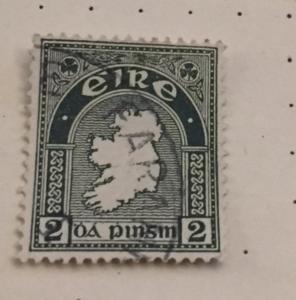 Ireland - 1934 - Scott #92 - used