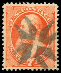 momen: US Stamps #149 Used NYFM TR-C7 PF Cert