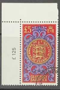 GUERNSEY 1983 DEFINITIVE £5 USED