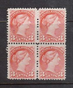 Canada #37 Mint Block **With Certificate**