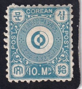 Korea,  #  2   unused