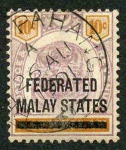 Malay States SG5 Malay States on 10c Negri Sembilan