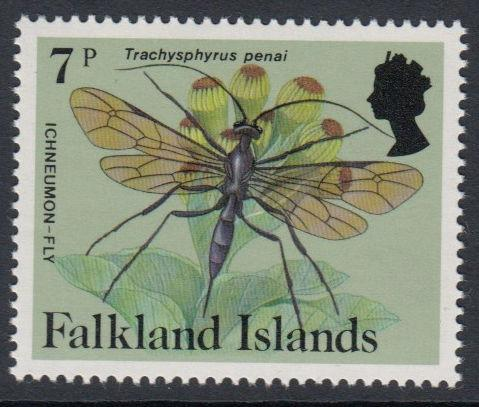 Falkland Islands - 1984 Insects and Spiders (7p) (MNH)