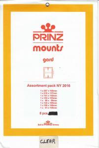 PRINZ CLEAR MOUNTS NY2016 (8) RETAIL PRICE $15.00