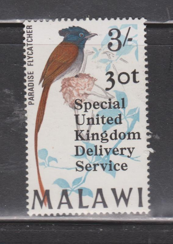MALAWI - Scott # 104 Mint - Overprinted For Use On UK Mail During Mail Strike