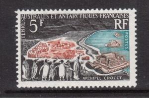 French Antarctic #23 VF/NH Mint
