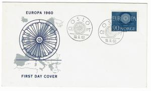 Norway 1960 Europa First Day Cover - Z453