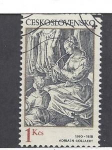 Czechoslovakia, 2407, Engravings Single, Used