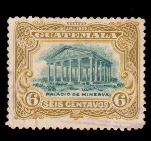 GUATEMALA STAMP 1902 SCOTT # 117. USED. # 6