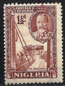 Nigeria 1936 Scott# 40 MH