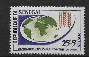 SENEGAL, B17, MNH, FREEDOM FROM HUNGER