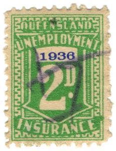 (I.B) Australia - Queensland Revenue : Unemployment Insurance 2d