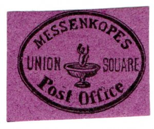 (I.B) US Local Post : Messenkope's Post Office (Union Square)