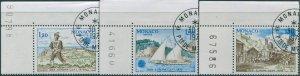 Monaco 1979 SG1395-1397 Europa set FU