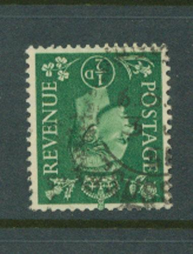 Great Britain GVI  SG 485 inverted watermark VFU
