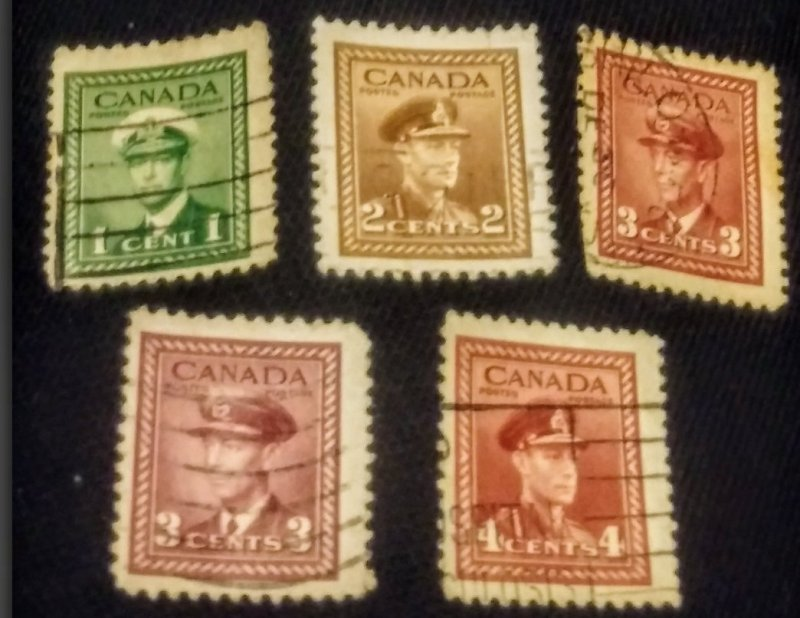 Canada used group of 5