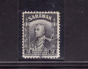 Sarawak-Sc#111-used-2c black-1941-