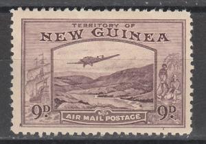 NEW GUINEA 1939 BULOLO AIRMAIL 9D