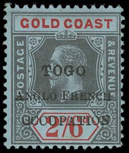 Togo Scott 74 Variety 3 Gibbons 43c Mint Stamp