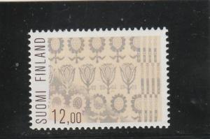 Finland  Scott#  718  MNH  (1985 Table Cloth)