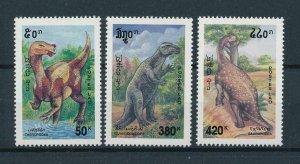 [106099] Laos 1994 Prehistoric animals dinosaurs  MNH