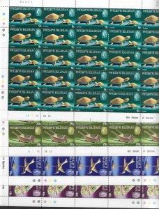 Pitcairn Is. 194-7 MNH cpl. set x 25, vf. 2022 CV $ 25.75