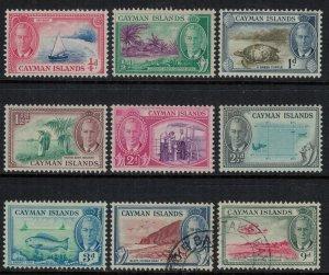 Cayman Is. #122-30*/u  CV $11.55