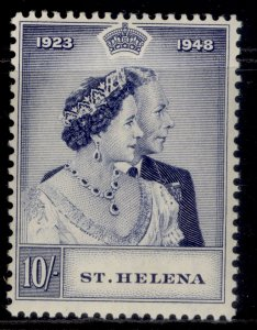 ST. HELENA GVI SG144, 10s violet-blue, LH MINT. Cat £28.