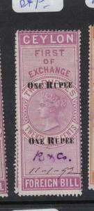 Ceylon Revenue BH 55 VFU (5dqx)