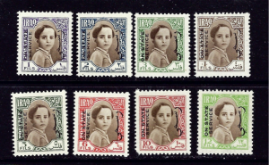 Iraq O115-22 MH 1942 Offical set