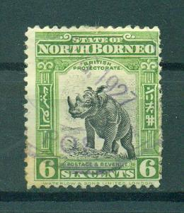 North Borneo sc# 142 used cat value $.30