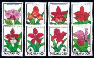[67420] Tanzania 1991 Flora Flowers Blumen Orchids  MNH