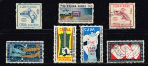 CUBA STAMP Airmail Stamps Collection Lot #S6