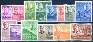 Mauritius SG276/289 Mounted Mint