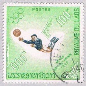 Laos 180 Used Soccer 1958 (BP44010)