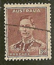 Australia  Scott 168  King  Used