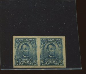 Scott #315 Lincoln Imperf Mint Pair of 2 Stamps (Stock 315-35)