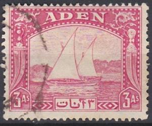 Aden 6 used (1937)