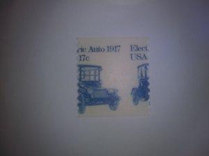 SCOTT # 1906 17 CENT AMAZING-NIFTY-KOOL MIS-PERF DULL GUM MINT NEVER HINGED GEM