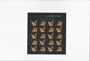 US Stamps Sheet/Postage Sct #3671a Neuter or Spay MNH F-VF OG  FV 7.40