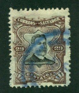 El Salvador 1910 #388 U SCV (2020) = $0.25